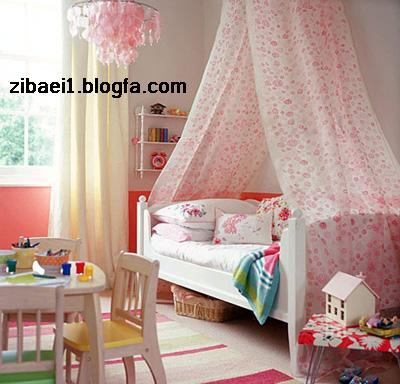 دکوراسیون-چیدمان اتاق کودک و نوزاد